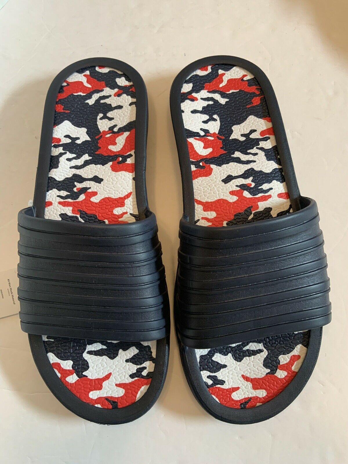 Men tunnel slides sandals blue camo camouflage insole pick size 11-13