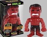 Funko Hikari Marvel Hulk Red Glitter Sofubi Limited Edition 1200 PC Vinyl Figure