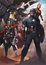 Jimmy Cheung SIGNED Avengers Marvel Art Print ~ Hulk Thor Captain America  - $29.69