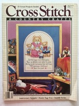 Cross Stitch & Country Crafts Magazine March April 1989 - $3.95
