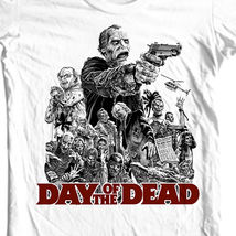 Day of the dead retro horror sci fi for sale white graphic tshirt online thumb200