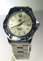 Men's Tag Heuer Aquaracer 300m Automatic Silver Dial WAF2111 Watch - $965.25