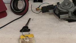 2003 Mercedes SLK230 Ignition Switch Skreem Door Trunk Glovebox Lock Key ECU ECM image 8