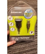 IOGEAR USB 2.0 to Serial Adapter, GUC232A New Sealed Box - $15.00