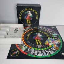 Vintage Playing Shakespeare Board Game Vintage 1990 Charades Family Drama  - $39.55
