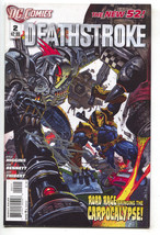 Deathstroke 2 1st Series DC 2011 NM Signed Kyle Higgins Simon Bisley - $9.85