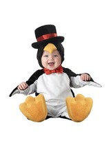 Incharacter Lil Penguin Top Hat Bow Infant Baby Toddler Halloween Costume 6010 - $50.19