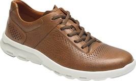Rockport Let's Walk Plain Toe Sneaker (Men's Shoes) in Tan Leather - NEW - $179.51
