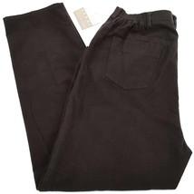 Womens Pants Brown size 16 Elisabeth Liz Claiborne $69 - $21.49