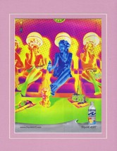 2004 Capri Sun Liquid Chill Framed 11x14 ORIGINAL Vintage Advertisement - $32.36