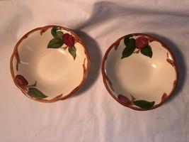 2 Franciscan Desert Rose 6 inch Bowls Mint - $15.99
