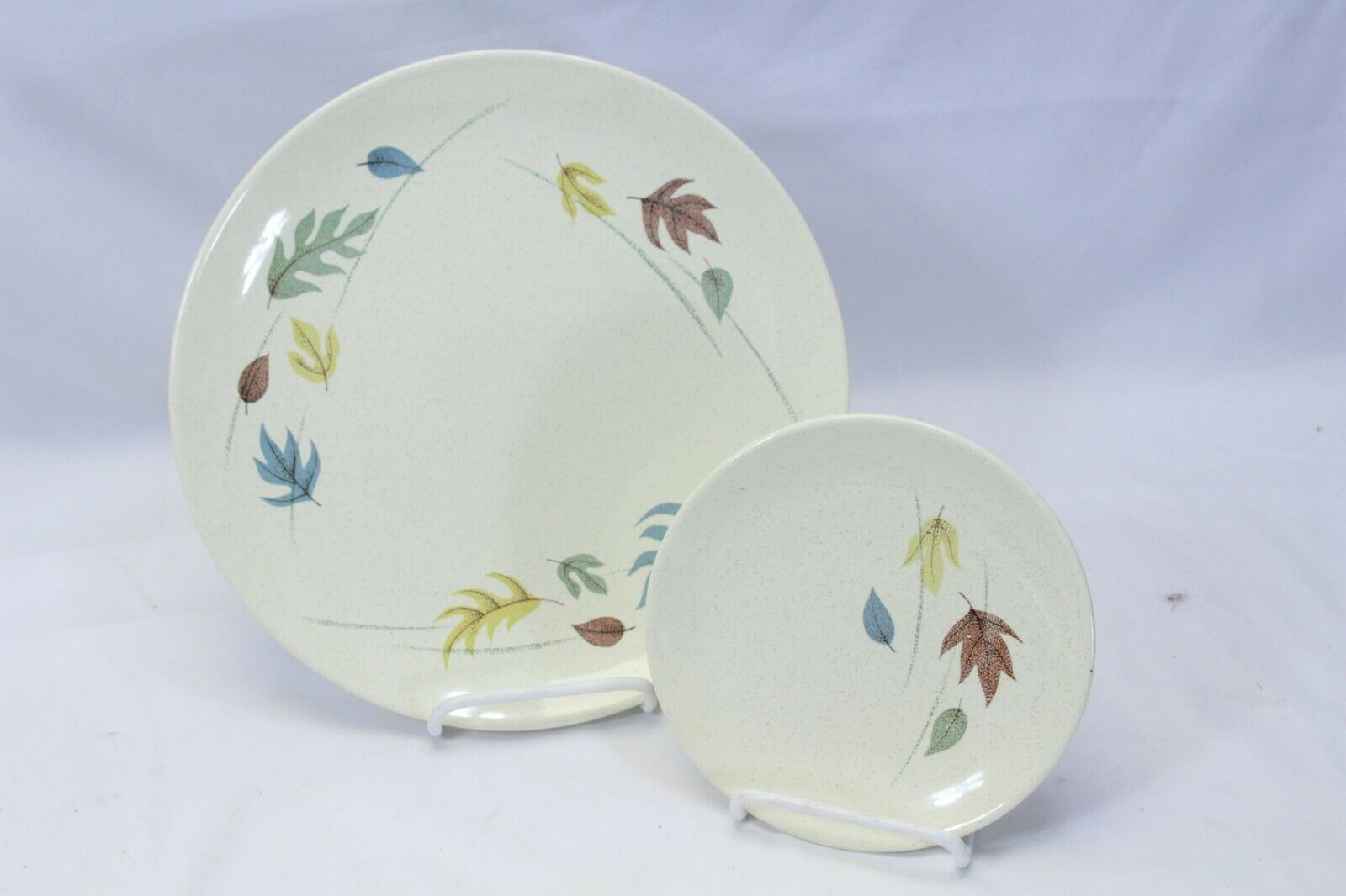 Franciscan Autumn Leaves Dinner and Bread Plates Lot of 10
