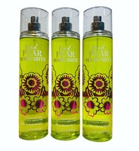 3-Pack Bath & Body Works Iced Pear Margarita Fine Fragrance Mist Spray 8... - $22.97