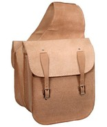 WESTERN TRAIL HORSE SADDLE BAG OR MOTORCYCLE SADDLE BAGS ROUGHOUT NATURA... - $38.80