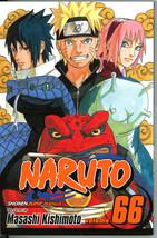 Naruto 66 The New Three Masashi Kishimoto Manga Graphic Novel Shonen Jum... - $5.00
