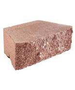 Retaining Wall Block Hardsplit Face Concrete Red (144-Piece/46.5 sq. ft.... - $1,013.28