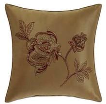 Croscill Milana Fashion Throw Pillow in Gold/Burgundy - $741,91 MXN