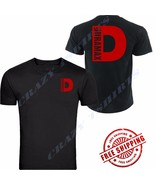 NEW RED DURAMAX CHEVROLET CHEVY Chest BLACK T-SHIRT TEE S-5XL FRONT & BACK - $19.99
