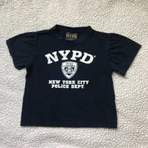 Officially Licensed NYPD Kids T-Shirt New York City Police Dept. - $5.94