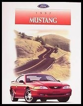 1997 Ford Mustang Color Brochure, GT, Convertible, MINT - $7.85