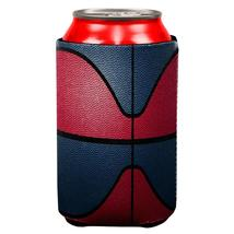 Championship Basketball Red & Navy Blue All Over Can Cooler - $7.95