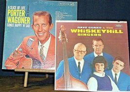 Dave Guard and the WhiskeyHill Singers and A Slice of Life Porter Wagoner AA20-R image 3