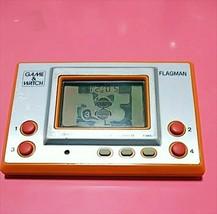 FLAGMAN FL-02 GAME & WATCH SILVER 1980 NINTENDO Retro Japan - $316.79