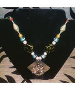 Triad of Spirits A Kinnara, Ancient Egyptian Temple Djinn and Bannik spe... - $160.00