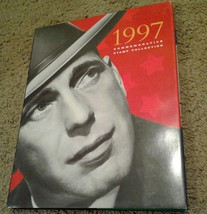 1997 USPS Stamp Yearbook in HARDCOVER BOOK ONLY, no stamps! - $12.19