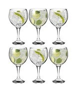 Cocktail Glasses 6 Pcs Set Balloon Dining Bar Restaurants Glassware Gin ... - £24.79 GBP