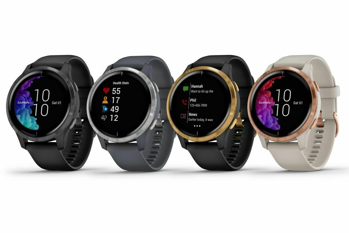 Garmin VENU Stainless Steel Bezel and Silicone Band (CHOOSE MODEL) WARRANTY INCL - $365.01