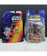 Star Wars action figure vintage Kenner vtg lot moc C-3PO gold attack clo... - $23.76
