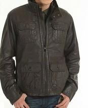 G STAR RAW Men's Dryden Leather Jacket Brown Size M, BNWT $680 - $249.75