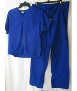 Cherokee Scrub Set Women's Size XS Blue GABW - $21.77
