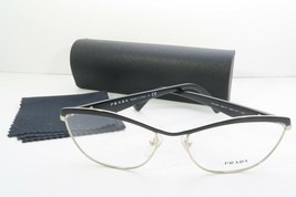 Prada Women's Black Glasses with case VPR 55R QE3-1O1 56mm - $170.99