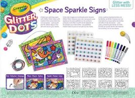 Crayola Glitter Dots - Space Sparkle Signs image 2