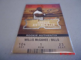 2003 Fleer Authentix #105 Willis McGahee ROOKIE #d 0940/1250 -Buffalo Bi... - $2.97