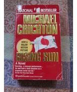 The Rising Sun By Michael Crichton - $6.99