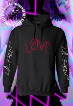 Love Lil Peep Hoodie, GBC, GothBoiClique, Crybaby, Front and Back Custom... - $24.75+