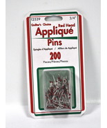 Sullivans Quilters Choice Red Head Applique Pins 200 Pieces - $4.46