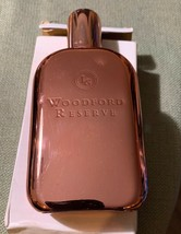 WoodFord Reserve Bronze Copper colored Flask - $29.69