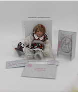 """Marie Osmond Fine Collectible Doll """"Apple Annie Fruit Cup""""  W/COA - $65.00"""