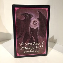The Secret Books of Paradys 1 & 2 by Tanith Lee (1988, Hardcover) Rare - $9.49