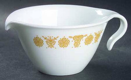 1970's Vintage Flat Creamer with Hook Handle in Butterfly Gold (Corelle)... - $14.99