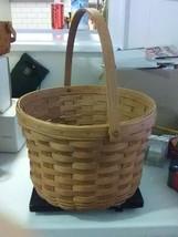 Longaberger Large Apple Basket - Swing Handle - 1987 - $22.95