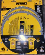 "Dewalt ~ Circular Saw Blades 2-Pack 12"" 80T, 32T Combo Pack - $51.41"