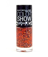 Set of 6 Maybelline Color Show Nail  Polish Assorted Colors Polka Dots P... - $14.99
