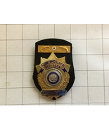 Obsolete Paterson New Jersey Auxiliary Police Deputy Chief Badge Expert - $135.00