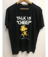Vintage Peanuts Snoopy Woodstock Big Cartoon Logo T-Shirt Streetwear - $45.00