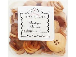 Denami Design Mimi's Boutique Sand Brown Button Mix